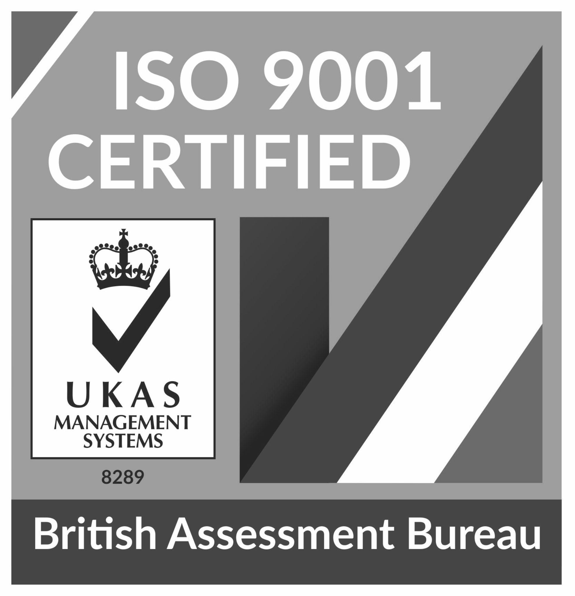 UKAS-ISO-9001(b&w)